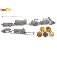 Quality Fast Food Nutritional Corn Flakes Production Line , Small Corn Flakes Machine for sale