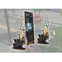 Quality 9 D VR Exercise Amusement Virtual Reality Bicycle Logo Customized For Arcade / Malls for sale
