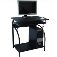 stylish computer desk office furniture contemporary black