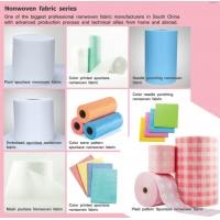 Quality 30% Viscose 70% Polyester  Spunlace Nonwoven Fabric For Wet Wipe TrüTzschler for sale