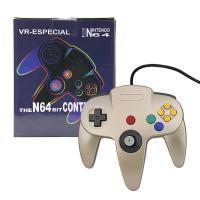 China Light Weight Nintendo 64 Gold Controller , Bluetooth N64 Controller Pressure Sensitive Button on sale
