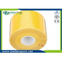 Kinesio tape sports muscle therapy  tape yellow colour 5cmX5m
