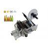 Cosmetics Vial Hand Semi Automatic Labeling Machine , Milk Bottle Labeling Equipment for sale
