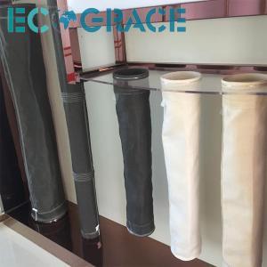 Quality Pulse Jet / Reverse Air Filter Fiberglass Filter Bag PTFE membrane for sale
