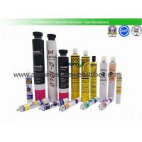 Quality 5ml - 200ml Volume Empty Aluminum Tubes , Pigment Packaging Aluminium Collapsible Tubes for sale