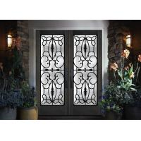 Quality Professional Iron Glass Entry Doors For Building Sound Insulation for sale