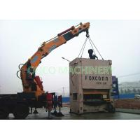 Quality Knuckle Foldable Truck Mounted Boom Crane , Telescopic Boom Crane Loading Cargoes for sale