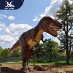Quality Zoo Equipment Handmade High quality Animatronic Dino Realistic Dinosaur Models for sale