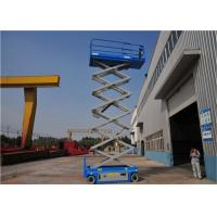 Quality Steel Structure Rough Terrain Forklift, Hydraulic Platform Lift 13M High Loading Capacity for sale
