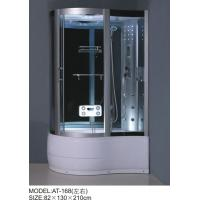 Quality Foot Massage Bathroom Shower Enclosures 3 Sided Waste Drain / Syphon Included for sale