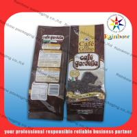 Quality Mylar aluminum foil tea bags packaging with flexible valve for sale