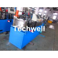 Quality Steel Stud and Track Cold Roll Forming Machine for Light Weight Steel Truss / Furring Channel for sale