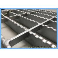 Quality Press Locked Steel Grating Expanded Metal Mesh 40 X 100 Mm Pitch for sale