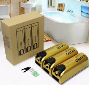 Quality 350ml x 3 Triple Liquid Manual Soap Dispenser for sale
