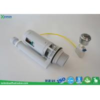Quality Cable Operated Toilet Dual Flush Valve , Wc Flush Valve For Uk Concealed Cistern for sale