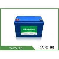 Quality 2000 Cycles Life Electric Forklift Battery 24V 50Ah Industrial Forklift Batteries for sale
