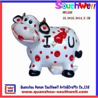 China Polyresin cow statues,cow figurine,resin cow statues,animal gifts on sale