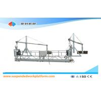 1.8KW * 2 Aluminum Suspended Access Platforms ZLP800 With 8.6mm Steel Wire Rope