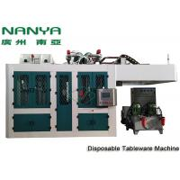 Quality Sugarcane Disposable Take Away Tableware Pulp Molding Equipment With PLC + Touch Screen + Simens for sale