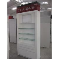 Quality Brand Wooden Cabinet for Cosmetics Showroom with LED Lightings for sale