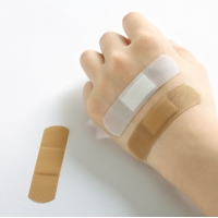 Quality china manufacturer price white band-aid fabric medical wound adhesive plaster custom printed band aid for sale