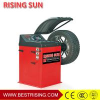 China Tire shop used semi automatic motorcycle tire balancing machine for sale CE on sale