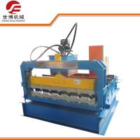 China 0.3 - 0.8 Mm Thickness Steel Sheet Metal Bending Machine Slitting / Cutting For Roof Panel on sale