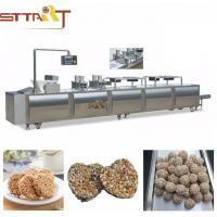 Buy cheap SS Material Cereal Bar Forming Machine , Efficient Protein Bar Making Machine from wholesalers