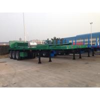 Quality Rear Cutting Flat Bed Container-40'HC Shipment for sale