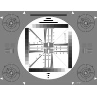 Quality 3nh REFLECTIVE TE97 A CERTIFICATE HIGH RESOLUTION TEST CHART 4:3 part of the HDTV test chart TE117 for sale