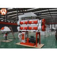 Quality Low Noise Feed Pellet Machine With Double Layer Modulator 5 T/H Capacity for sale