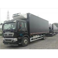 Quality Commercial Refrigerated Truck SINOTRUK HOWO 20 - 25 CBM German MAN Engine Euro 4 for sale