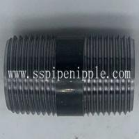 "Quality Seamless  Black Pipe Nipple 1""X2""  ANSI / ASME B1.20.1 Standard Size for sale"
