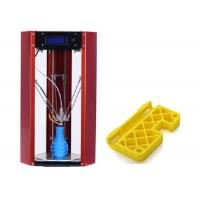 Buy cheap Dual Extruder Delta Robot 3D Printer , Height 230mm Delta 3D Printer Portable from wholesalers