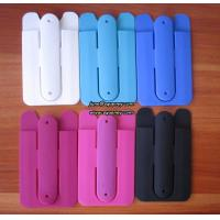 China New Arrival Silicone Phone Stand, silicone smart wallet for cell phone on sale