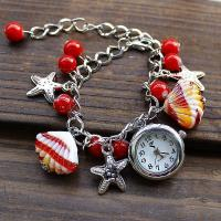 China SL004 hot sell european and American version shell bracelet watch,student watch,gift watch on sale