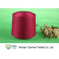 Quality High Tenacity Ring Spun Dyed Polyester Yarn , 100% Virgin Polyester Color Yarn Dyeing for sale