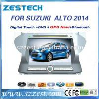 Quality ZESTECH China Factory OEM 2 Din Touch screen Car Dvd for Suzuki Alto 2014 for sale
