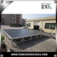 Quality portable stage stair concert stage stage backdrop decorations four legs stage for sale