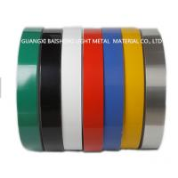 Quality Color Coated Aluminum Strip Coil Double Coating 25 Micron Single Coating 18 Micron for sale