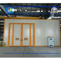 Quality High Durability Sandblasting Room Belt Conveyor Type For Metal Materials for sale