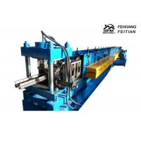 Quality Hydraulic Press Type Cable Tray Forming Machine , Cable Tray Making Machine For Shelves for sale