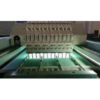 Quality 5KW Horizontal Quilting Embroidery Machine Single Head Integral Steel Structure for sale