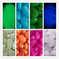 Buy cheap glow stone/glow in the dark pebble stone from wholesalers