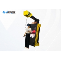 Quality Automatic Rise Fall Shooting 9D VR Self Helped Arcade Machine for sale
