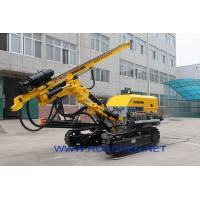 Quality Solar Pile Hole Drilling Rig Machine , Rotary Drilling Rig For Engineering Projects for sale