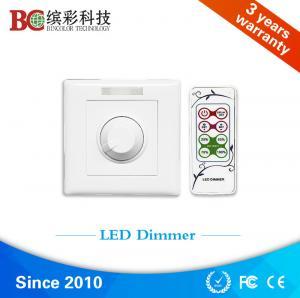 China zhuhai bincolor ir remote control dc 12volt 24volt 48volt 6A led dimmer switch on sale