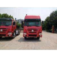 Quality SINOTRUCK Prime Mover Truck LHD RHD 375HP 6X4 Tractor Trailer Truck Red Color for sale
