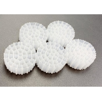 Quality Virgin HDPE IFAS Technology MBBR Floating Filter Media White Color for sale