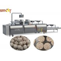 Quality Full Auto Granola Bar Press Machine Candy Bar / Protein Bar Manufacturing for sale